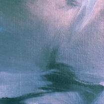 Huile sur toile, 50 x 20 cm, 1988