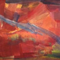 Acrylique sur toile, 75 x 100 cm, 2003