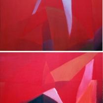 Acrylique sur bois, [98 x 110 cm] x 2, 2006