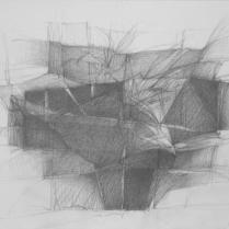 Sans titre. Mine de plomb sur papier, 20 x 30 cm, 2008