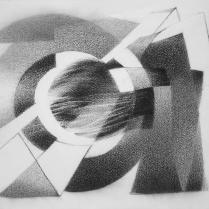 Sans titre. Graphite sur vélin d'Arches, 40 x 50 cm, 2015