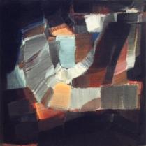 Acrylique sur toile, 45 x 45 cm, 2003