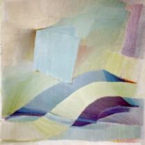 Acrylique sur bois, 100 x 100 cm, 2005
