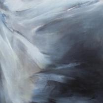 Huile sur toile, 90 x 90 cm, 1987