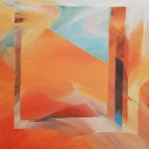 Acrylique sur toile, 100 x 100 cm, 2019